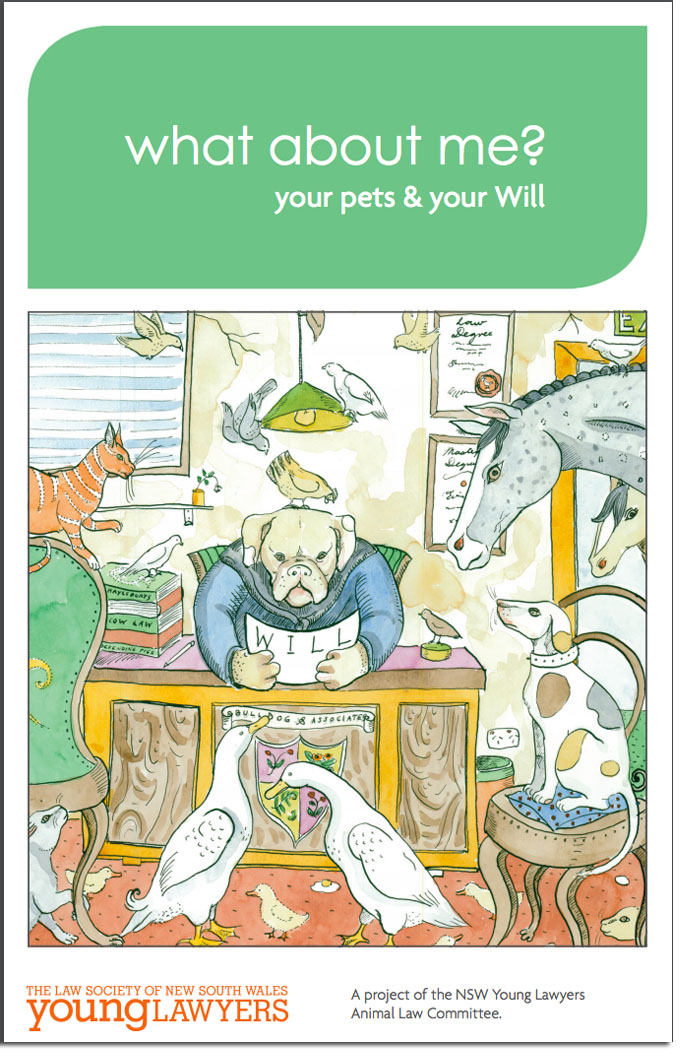 How will my pets be looked after in a Will?