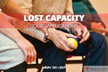How to apply to the Court for protection on behalf of a person who has lost capacity