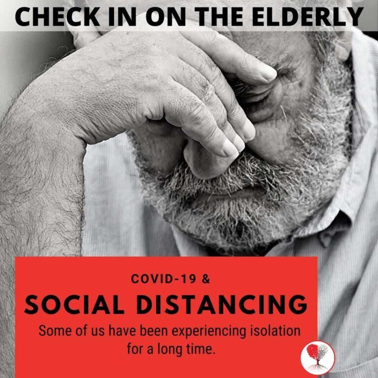 what do i do seniors elderly lonely isolation