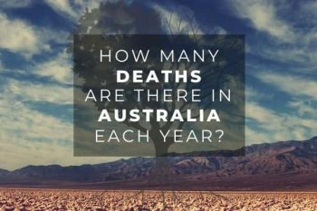 How many deaths are there in Australia each year?